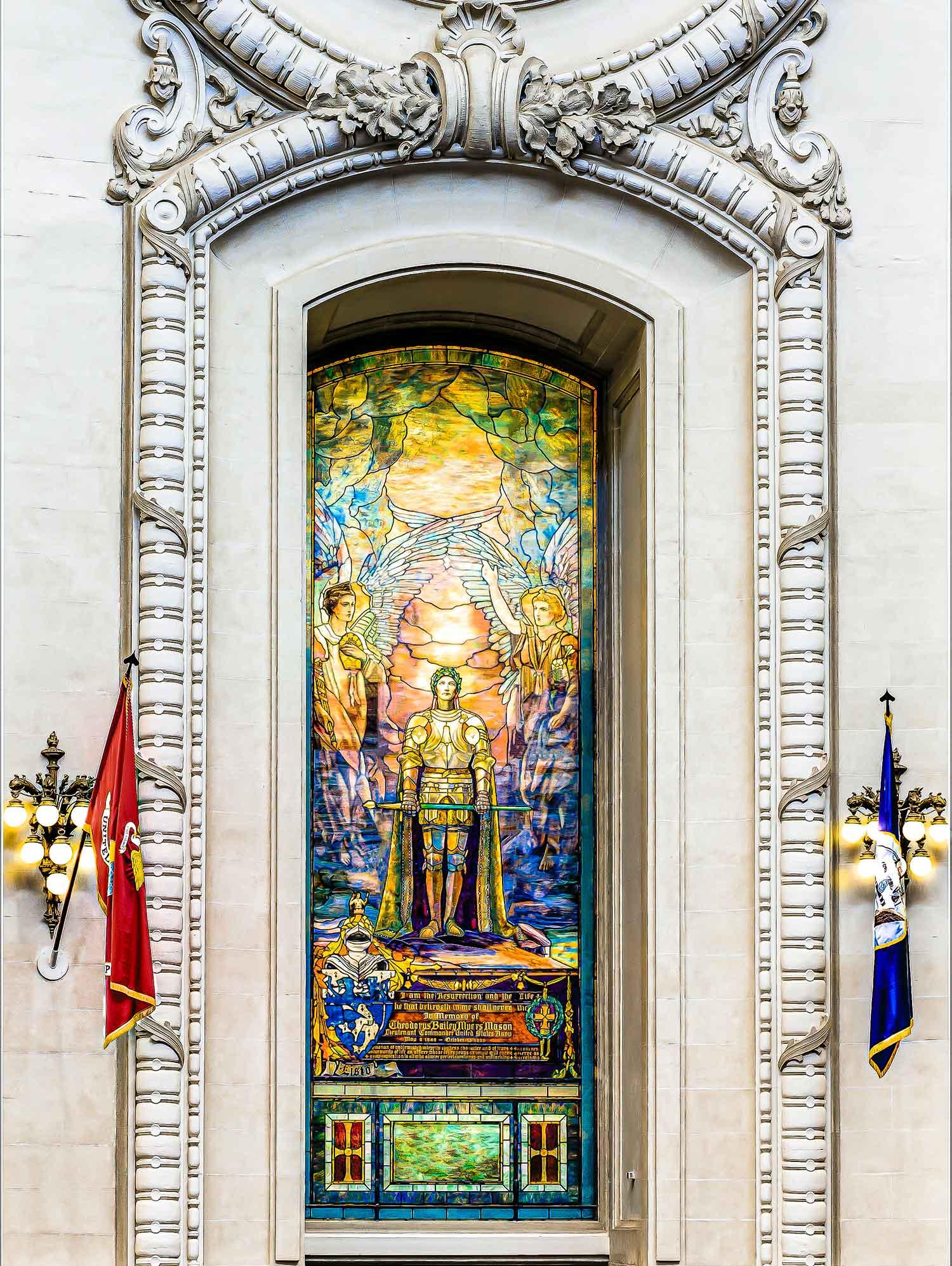 Tiffany,-AFTER-Sir-Galahad-Window,-USNA,-5188,-C1